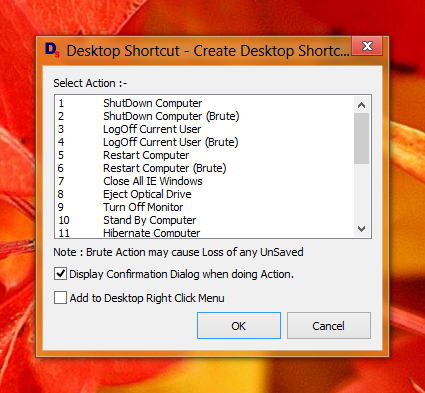 Create Desktop Shortcut on your Windows 8 Computer