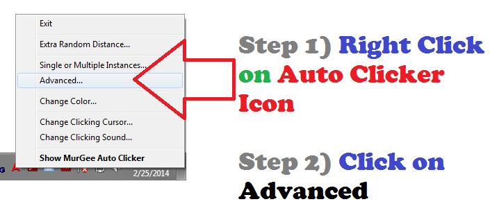 Launch Advanced Auto Clicker