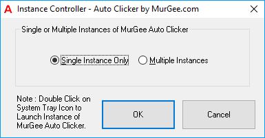 Instance Controller to Control Number of Auto Clickers